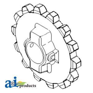sprocket search all ag parts John Deere 650 Parts Diagram sprocket feeder house chain