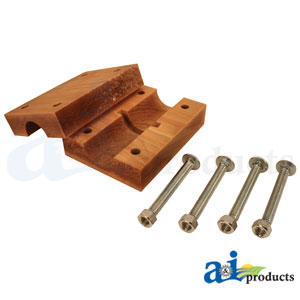 Straw Walker Wood Bearing Blocks