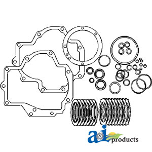 search all ag parts Farmall Super a PTO Diagram pto clutch disc gasket kit