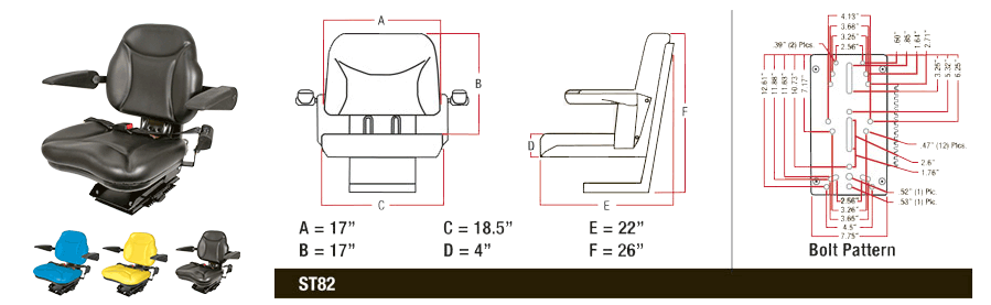 Learn more about the Big Boy Seat from A&I Products