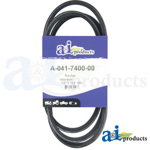 A-041-7400-00 Drive Belt for Badboy Zero-Turn Mowers