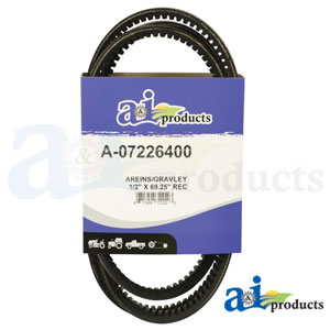 A-07226400 Hydro Drive Belt. Fits Gravely Mowers
