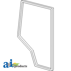 A-109596C1: Case-IH (RH) Door Seal