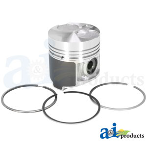 A-115017491: Piston Kit for Case-IH Compact Tractors D35, D45, DX34, DX35, DX45, DX48