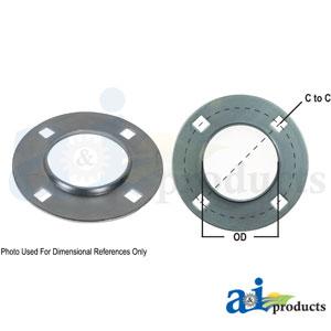 A-714360 Bearing, Flange Case-IH | AllPartsStore