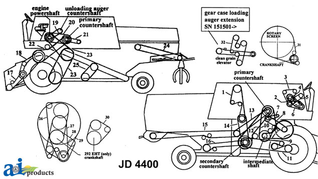 john deere lx280 parts diagram