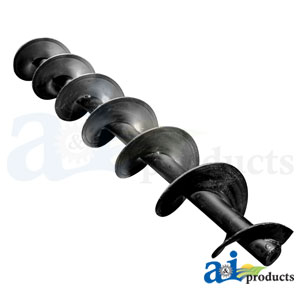A-47740022 Bubble Up Auger. Fits Case-IH Combines 5140, 6140, 7140