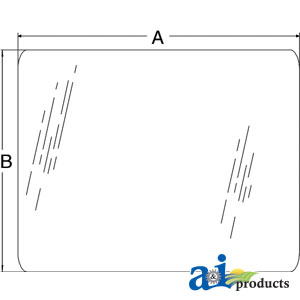 A-5108667: Glass, Windshield, Front, Lower (RH/LH)
