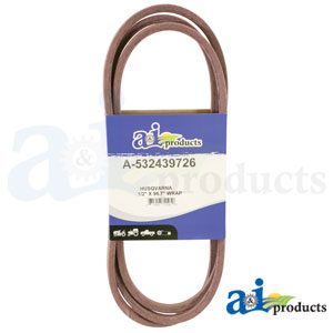 A-532439726 Deck Belt for Husqvarna Riding Mowers