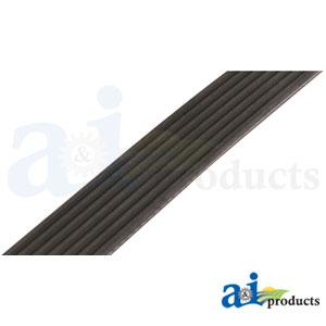 "A-535DK7: Micro-Rib V-Belt (53.5"" 7 Rib) DBL SIDED"