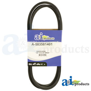A-583581401 Deck Belt for Husqvarna Riding Mowers