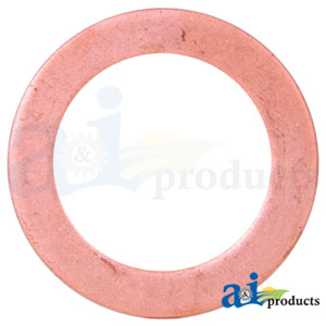 A-59658D: Oil Pan Drain Plug Gasket for Case-IH Tractors