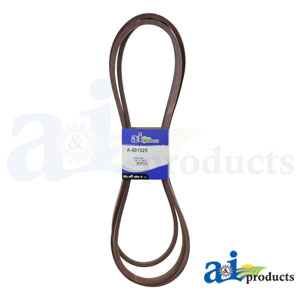 A-601525 Deck Belt. Fits Hustler Zero-Turn Mowers