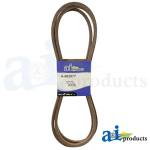 A-602077 Deck Belt. Fits Hustler Zero-Turn Mowers