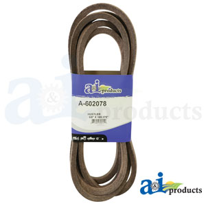A-602078 Deck Belt. Fits Hustler Zero-Turn Mowers