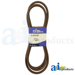 A-603397 Rear Discharge Belt. Fits Hustler Zero-Turn Mowers