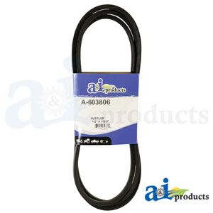 A-603806 Deck Belt. Fits Hustler Zero-Turn Mowers
