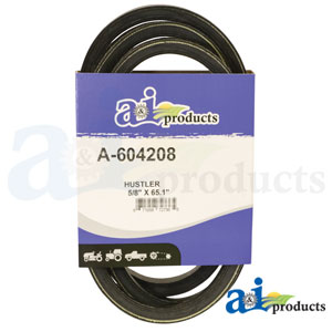 A-604208 Pump Drive Belt. Fits Hustler Zero-Turn Mowers