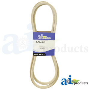 A-604817 Deck Belt. Fits Hustler Zero-Turn Mowers