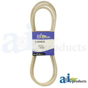 A-604830 Deck Belt. Fits Hustler Zero-Turn Mowers