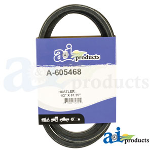 A-605468 Pump Drive Belt. Fits Hustler Zero-Turn Mowers