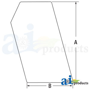 6702731 Side Glass, Stationary