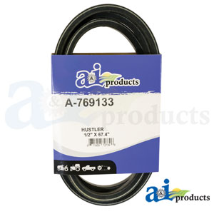A-769133 Pump Drive Belt. Fits Hustler Zero-Turn Mowers