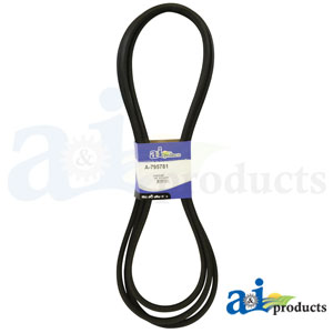 A-795781 Deck Belt. Fits Hustler Zero-Turn Mowers