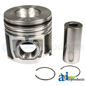 8094846 Piston with Rings