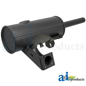 A-86537593 Muffler. Fits Ford/New Holland Skid Steer Loaders L160, L565, LS160, LX565