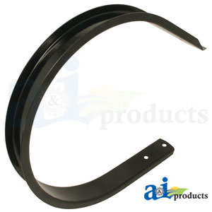 A-87055363 Middle Pickup Guard. Fits Case-IH Round Balers