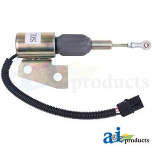 A-87420953: Case-IH Fuel Shutoff Solenoid Valve (24v)
