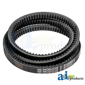 87489502 A/C Compressor Belt. Fits Case-IH Tractors MAGNUM 180, MAGNUM 190, MAGNUM 210, MAGNUM 225), (COMBINE: 5140, 6140, 7140