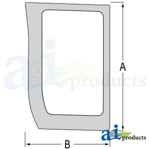87566892 Lower Front Glass