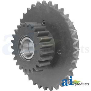 A-87609664: Case-IH RH Rotor Drive Sprocket & Gear