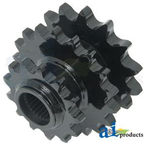 A-87664056: CNH Triple Drive Rotor Sprocket