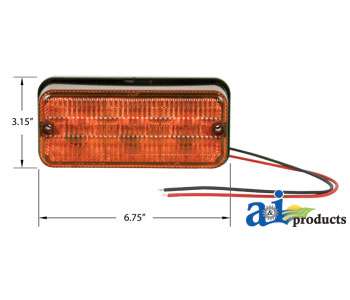 Amber LED Flasher/Tail Light