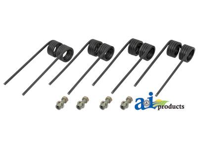 Aafh202304 Tooth Pickup Square Wire Set Of 4 Teeth W Hardware. John Deere. John Deere 466 Round Baler Wiring Harness At Scoala.co