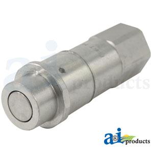 "A-AH225669: John Deere Hydraulic Quick Coupler Socket, 1/2"""
