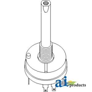 A-AL64312 Switch, Light John Deere TRACTOR 2555| AllPartsStore on john deere 2555 tractor, john deere 2555 cooling system, john deere 2555 parts, john deere 2555 battery, john deere 2555 thermostat, deere 2555 parts diagram, john deere relief valve, john deere 2555 controls, john deere electrical diagrams, john deere 1530 wiring-diagram, john deere 2555 engine, john deere 2555 manual, john deere b wiring schematic, john deere 2555 steering diagram, john deere 2555 transmission diagram,