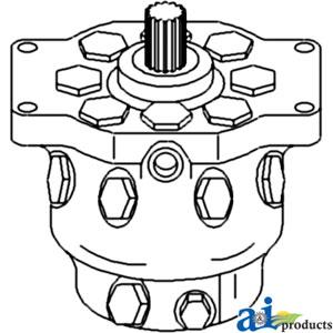 A-AR94660 Hydraulic Pump for John Deere Tractors