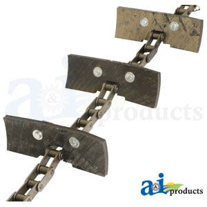 AXE10556 Tailing Elevator Chain. Fits John Deere Combines.