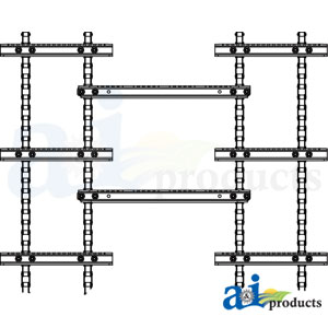 A-AXE27247 4 Strand Feederhouse Chain for John Deere combines