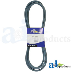 A-B135K Kevlar V-Belt for Simplicity Zero-Turn mowers