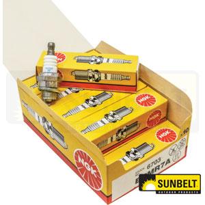 B1BPMR7ASD Spark Plugs. Replaces: Torch CS42S, 2974, WSR6F, WSR7F, RCJ6Y, RCJ7Y, BPMR7A, 6703, W22MFV, 77-134, 5850, 130-540