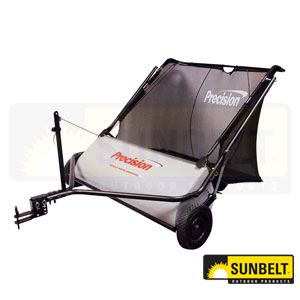 """Precision 42"""" Tow Behind Direct Drive Lawn Sweeper"""