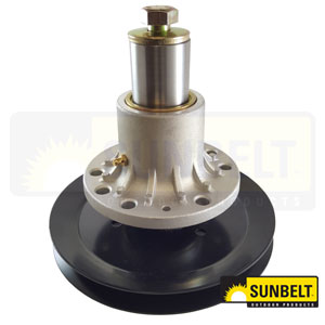 B1EM110: Spindle Assembly For Exmark Laser Z, Meteor, Viking, Turf Trace, and Turf Ranger Mowers