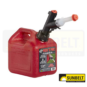 Press 'N Pour Gas Can. Part # B1GB310