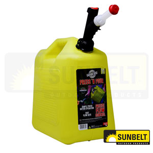 B1GB356 - Press 'N Pour Gas Can