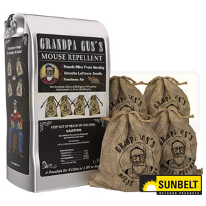A-B1GMM415 Grandpa Gus's Rodent Repellent Pouches